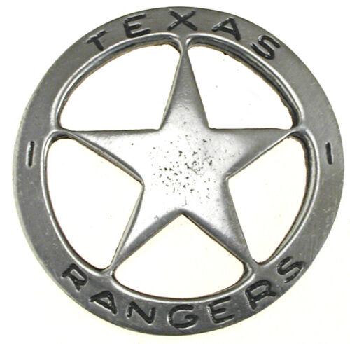 Texas Rangers Star Old West Historic Replica Badge,Vintage, #06