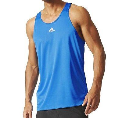 (Adidas Men Running Tank Top Response Singlet AI8198 Sizes: M, L, XL Retail= $40)