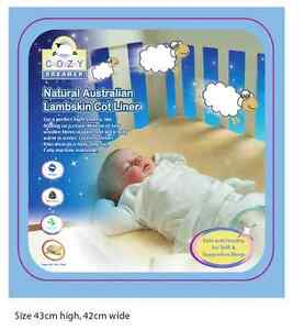 Sheepskin Lambskin Baby Bed Cot Crib Liner Underlay Play