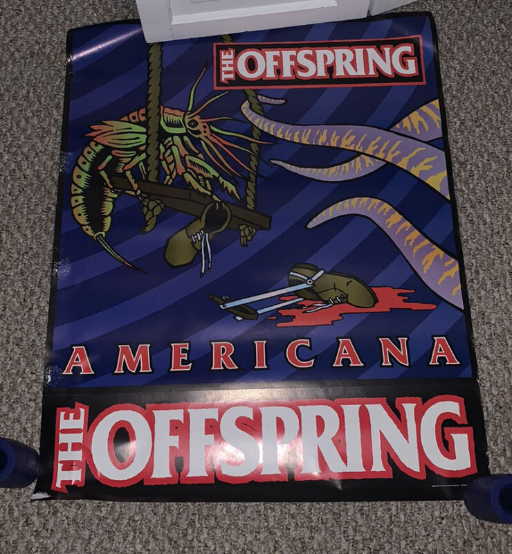 THE OFFSPRING Americana 18x24 Poster. Rare!