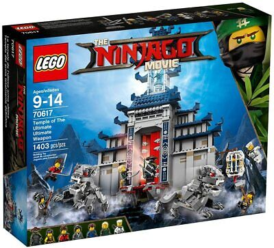 LEGO Ninjago Temple Of The Ultimate Weapon - 70617 - New Sealed