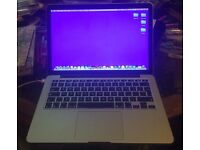 Apple OS X Macbook Pro version 10.91 in very good condition. Reluctantly selling due to finances.