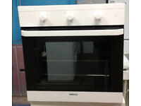 a400 white beko single electric integrated oven comes with warranty can be delivered or collected