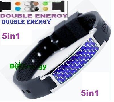 Anion Magnetic Energy Germanium Power Bracelet Health 5in1 Bio Armband BAND 252