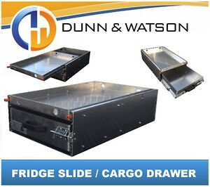 60LTR+ Fridge Slide Cargo Drawer - Suits Waeco Evacool Engel ARB 4x4 4wd Storage