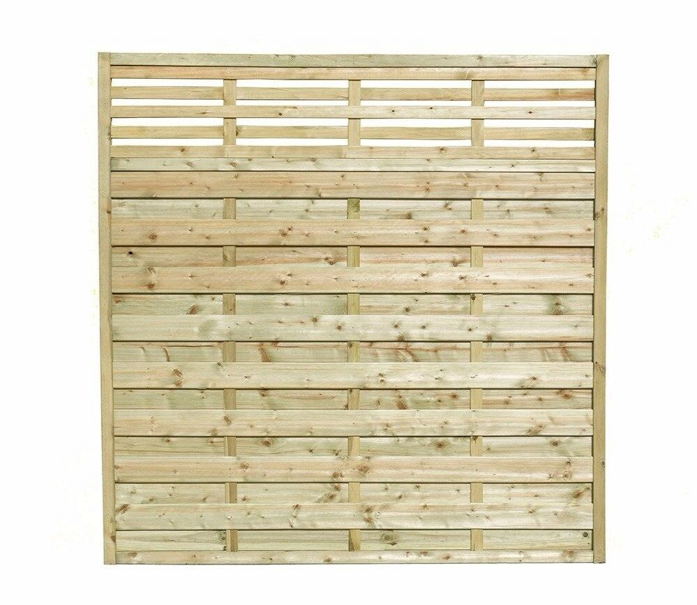 Brand New! 5 Pack of Wickes Forest Kyoto Fence Panels 1.8m x 1.8m RRP £280.