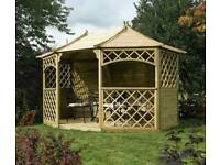 Brand new Sandringham gazebo, £1600 in tesco, on offer here just £880
