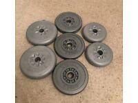 York Weight Set 11.25kg (2.5kg / 1.25kg mixture)