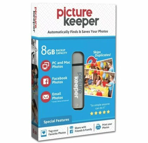 Brand New Picture Keeper 8GB Automatic USB Photo Backup PC/ Mac Computers  - $22.00