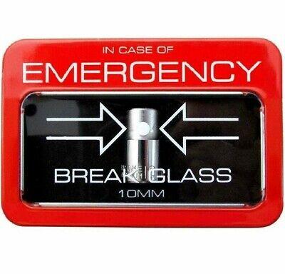 10mm Socket In Case of Emergency Break Glass Mechanic 3/8 Tool Tray Box Set -