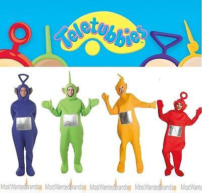 Laa Laa Teletubbies Kostüm (Rubies Teletubbies - Adult - Unisex Kostüm * Laa-Laa, Dipsy, Po, Tinky-Winky )