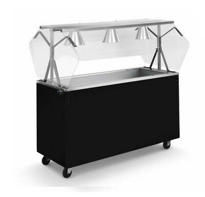 Vollrath 39777 Affordable Portable 60 4 Well Cold Cafeteria Station