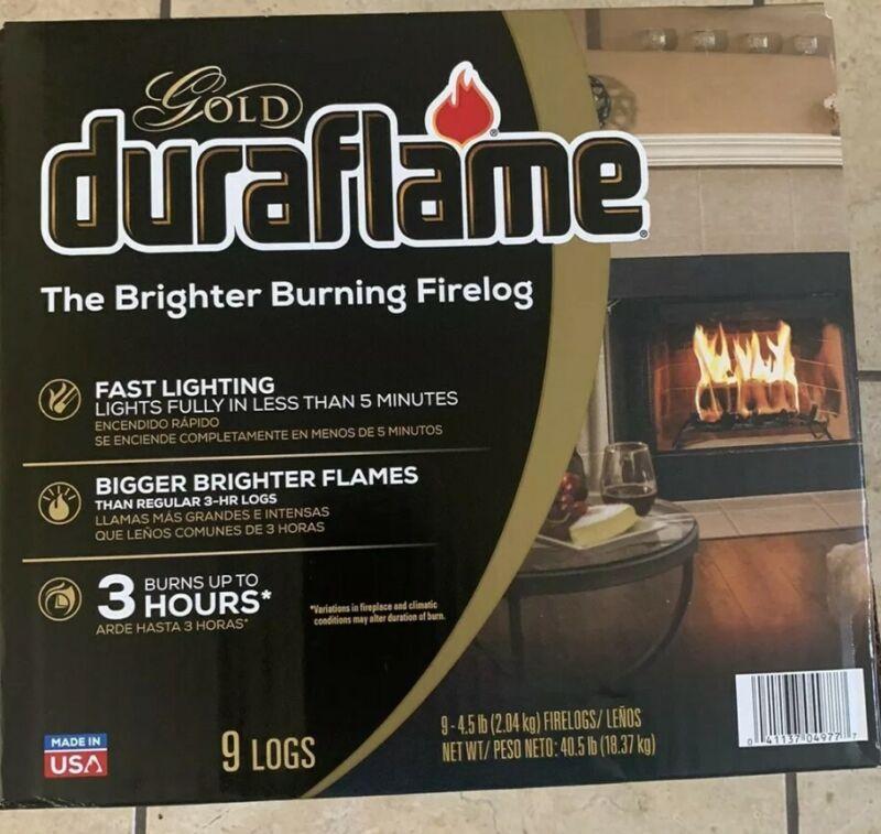 Duraflame Gold 4.5lb 3-hr Firelog (9-Pack) - Free Shipping