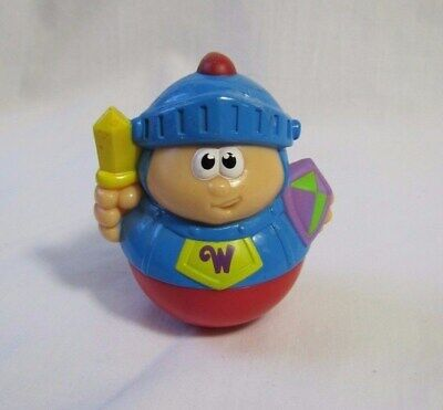 PLAYSKOOL Weebles Weeble Wobble ROYAL KNIGHT ARMOR Toy Playschool for CASTLE](Knights Armor For Kids)