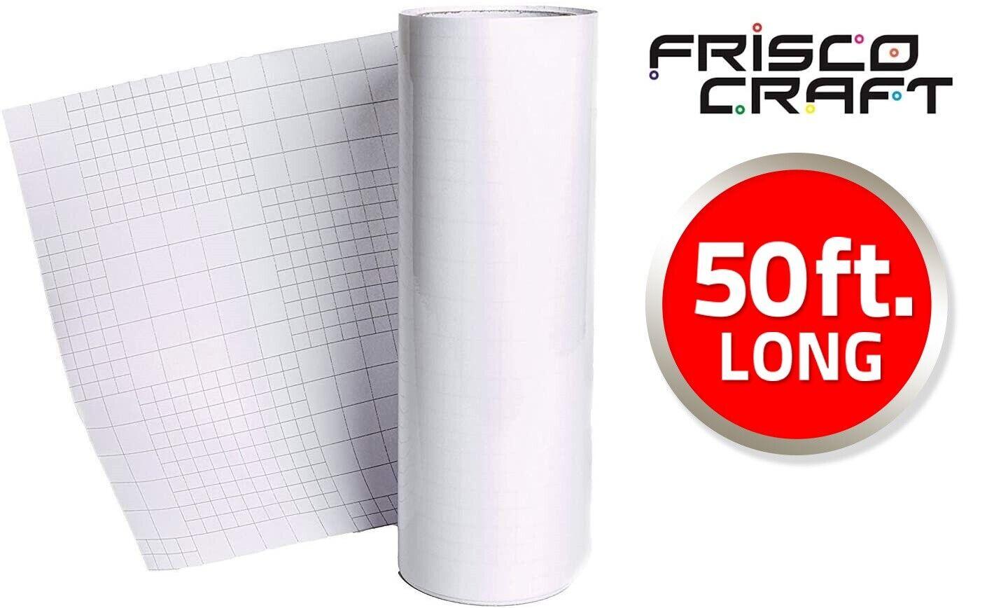 FriscoCraft Hot Transfer Tape for Printable Heat Transfer Vinyl (HTV)-12