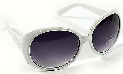 fd3d3c16db New Ladies Women Girl White Large Classic Vintage Retro Sunglasses UV400  Classic