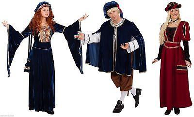 Hofdame Magd Kostüm Kleid Damen Mittelalter Barock Burgfräulein - Mittelalter Magd Kostüme