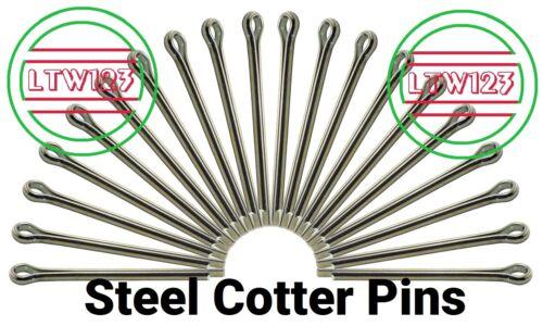 "(100) Cotter Pin 1/8 x 1-1/4"""