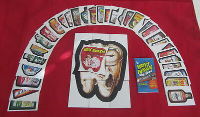 WACKY PACKAGES OLD SCHOOL 2 OS2 COMPLETE SET 1-42      @@ PACK FRESH @@