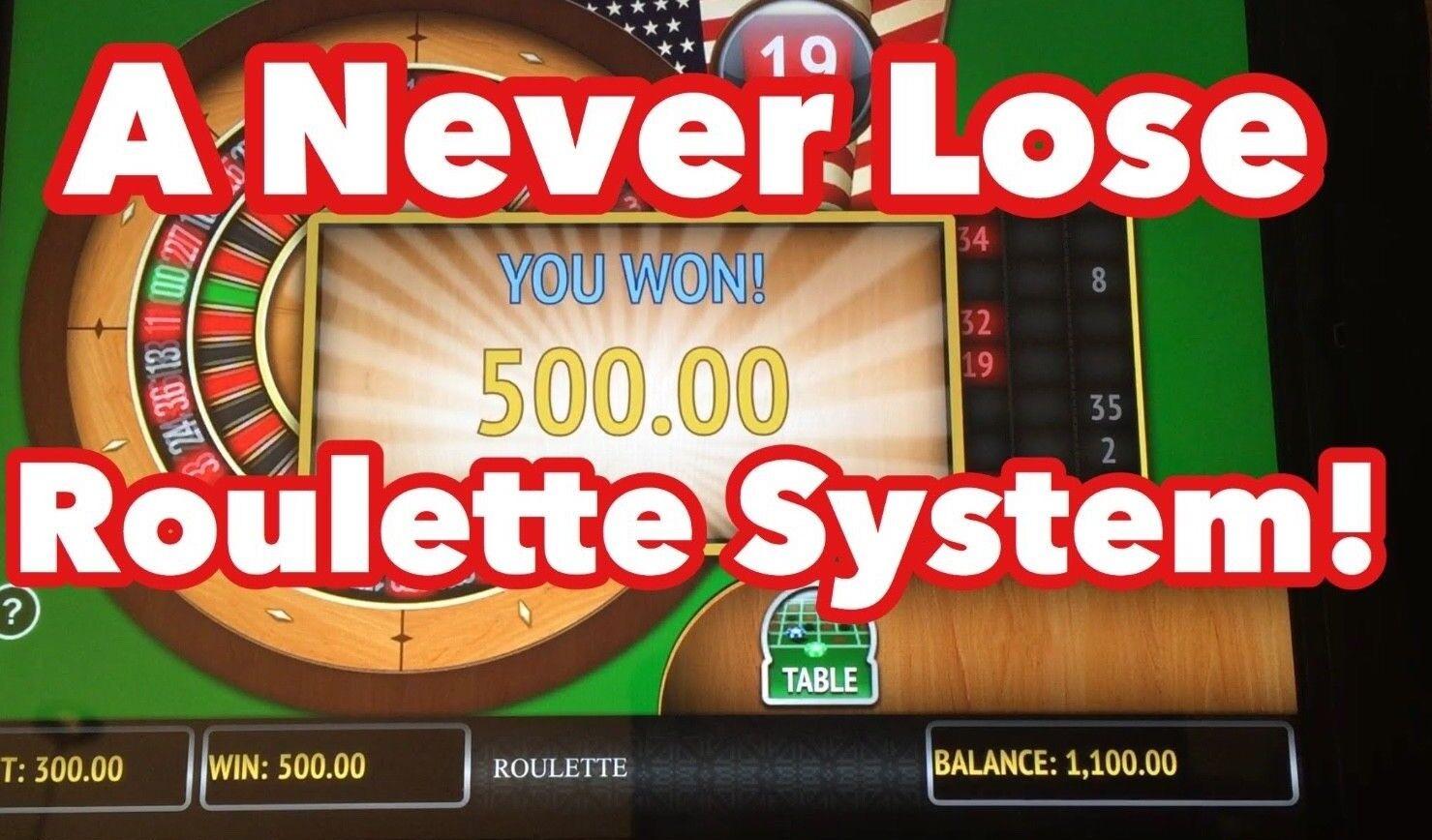 Roulette 100 winning strategy