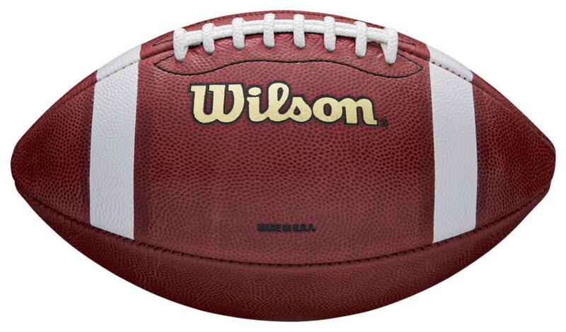 Wilson 1005 Regulation Size Leather Football