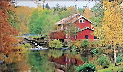 300 Pcs Puzzlebug Puzzles Old Red Mill By The Waterfront Jigsaw Puzzle