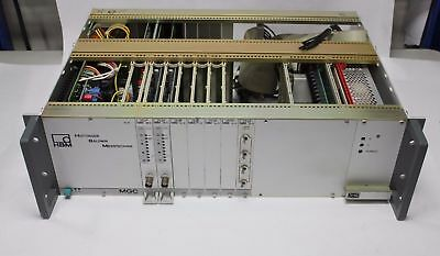 Hottinger Baldwin Messtechnik Hbm Mgc Data Acquisition Rack System Daq