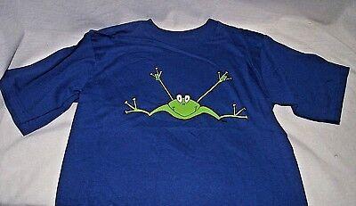 Asl Frog - ASL Frog I Love You ILY American Sign Language T Shirt Blue Boy Girl 14 16 NEW
