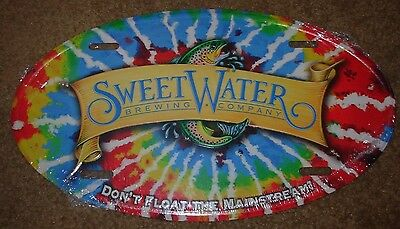 SWEETWATER Oval sign METAL TACKER SIGN craft beer Atlanta brewery brewing