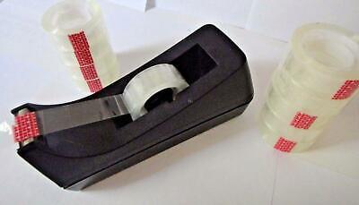 Clear Transparent Tape Rolls 34 X 1000 Dispenser Refill 6 Tape Rolls