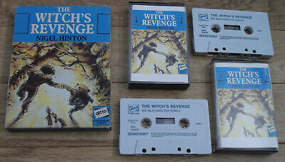 Nigel Hinton THE WITCH'S REVENGE Audio Cassettes Pickwick Ditto Boxed