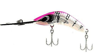 FISHING LURE PREDATEK BOOMERANG 65 D-10g TROP//CRAY CAST OR TROLL DEEP DIVER