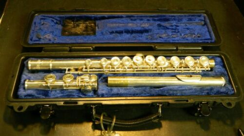 Vintage Selmer FL 300S Silver Plated Flute In Original Case Very Good Condition