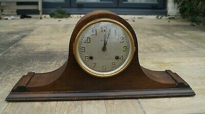 "Waterbury American mantel clock with ""bim-bam"" strike.SEE VIDEO."