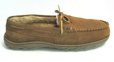 Men/'s Dress Shoes Moc Toe Slip On Loafers Black Leather GIORGIO VENTURI 6818