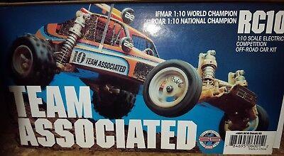 Team Associated RC10 NIB Gold Pan Re-release #6001 Classic Kit 1:10