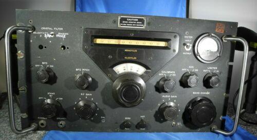 Vintage Collins Radio Receiver R-388/URR Works! - YouTube Video!