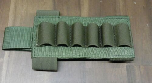 Shotgun Shell Stock Pouch w/ Elastic Retention Eagle IND