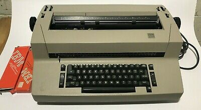 Ibm Selectric Ii Typewriter - Used And Untested