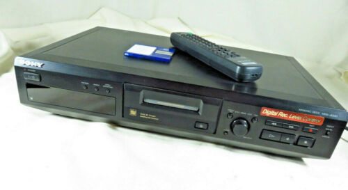 Sony MDS-JE330 MiniDisc Deck Digital Stereo Player Recorder With Remote