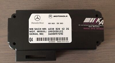 2308204226 Mercedes W203 W209 W230 Motorola Steuergerät Telefon