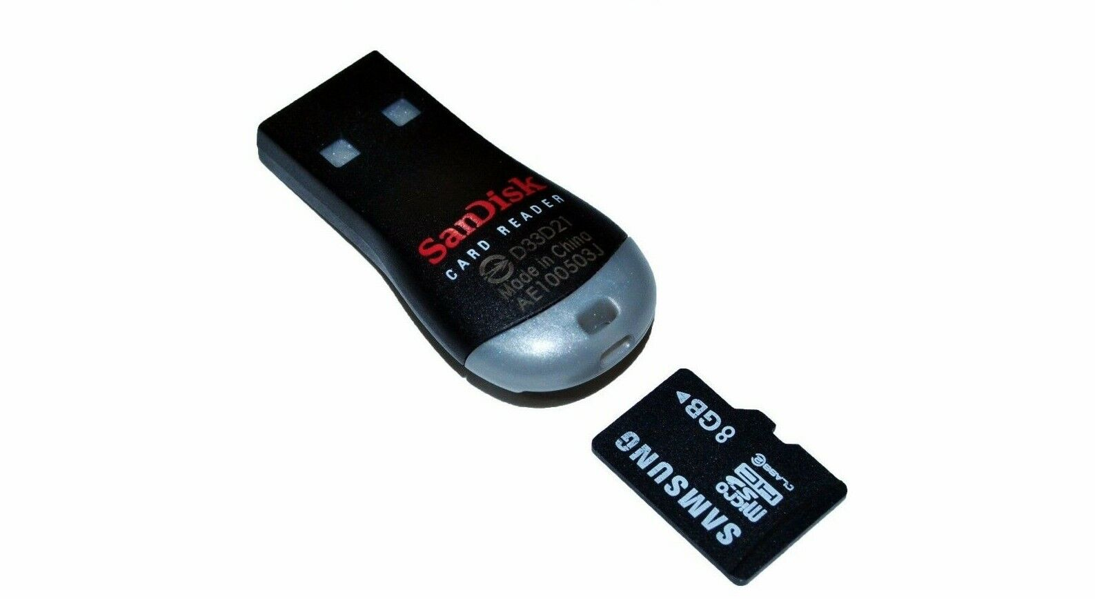 2x LOT Genuine Sandisk SDDR-121-G35 MobileMate MicroSD to US