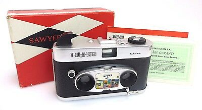 Sawyers View Master Stereo Color Camera 11258 Lens 2,8/20mm  OVP br127
