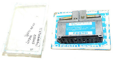 New Festo Mfh-53g-d-1-b Solenoid Valve 10bar 145psi Mfh-53g-d-1 B