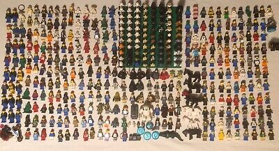 LEGO Minifigure Huge Lot Ninjago Star Wars Minecraft Harry Potter Chima Marvel