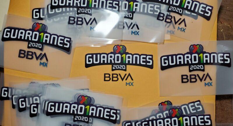 PARCHE LIGA MX    America, Monterrey, Tigres.PATCH.  2020 guardianes patch