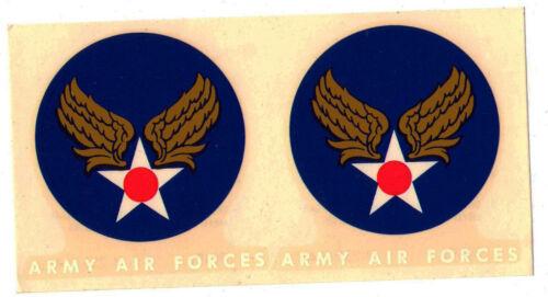 ORIGINAL NOS AAF A-2 FLIGHT JACKET SLEEVE DECALS 1944