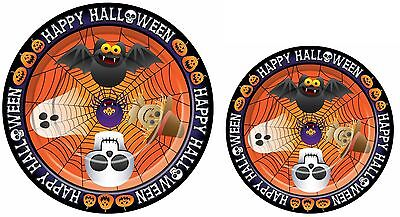 16 Halloween Paper Plates Party Plate 7