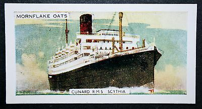 RMS SCYTHIA  Cunard Liner    Vintage Colour Card  # CAT C