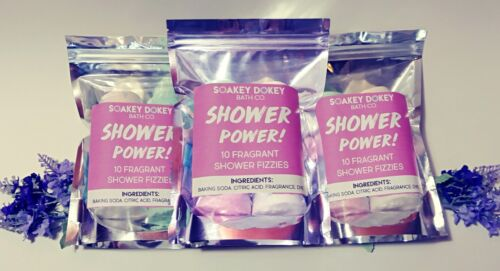 Shower Steamers, Shower Bombs, Shower Fizzies, Shower Tablets, Aromatherapy